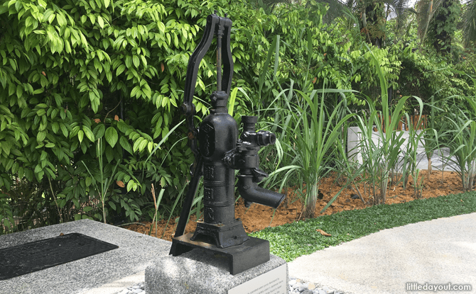 Water Pump at the Syonan Garden
