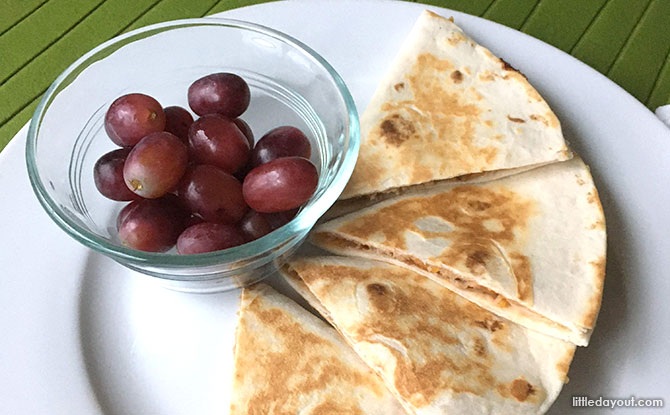 BBQ Chicken Cheese Quesadilla Recipe