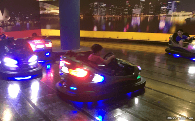 Bumper Cars at TimeZone