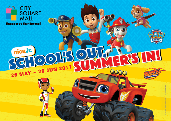 Blaze & The Monster Machines and PAW Patrol at City Square Mall
