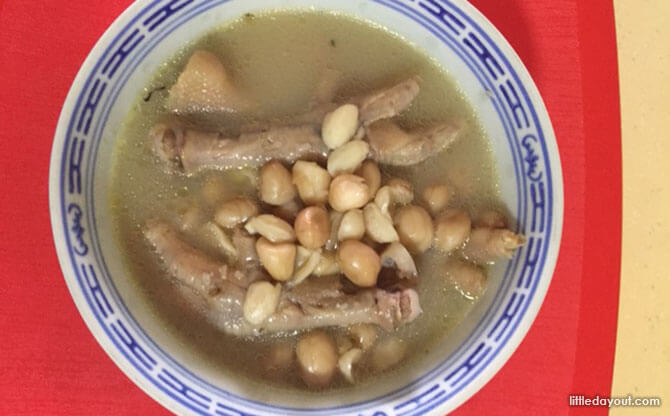 Simple Home-cooked Recipe: Chicken Feet Soup with Peanuts