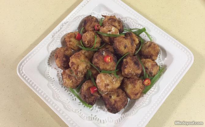 Chicken Potato Balls Recipe