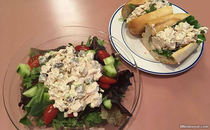 Chicken Salad Sandwich Rolls & Chicken Salad
