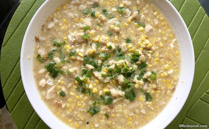 Creamy Corn with Chicken Recipe