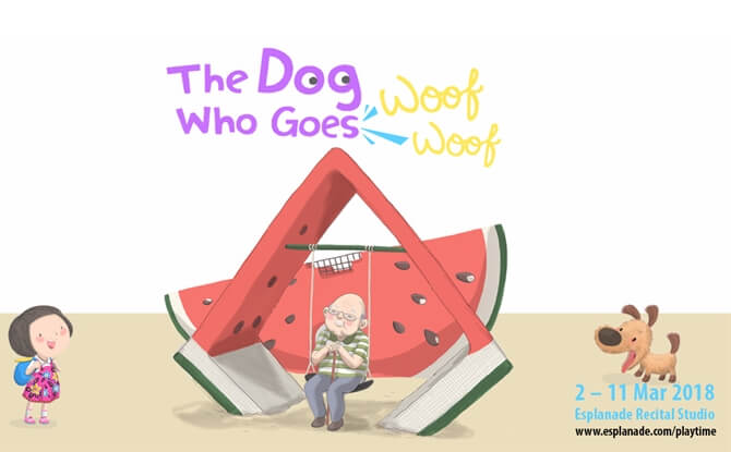 PLAYtime! The Dog Who Goes Woof