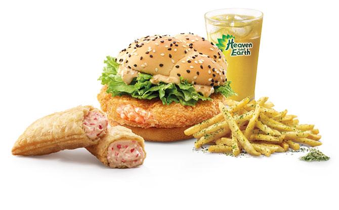 McDonald's Singapore's Ebi Burger Returns With New White Choc Strawberry Cream Pie From 29 August 2019