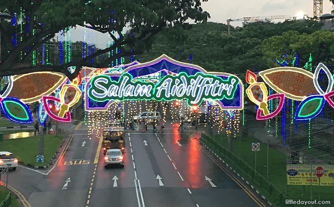 Hari Raya Light Up 2017, Geylang Serai