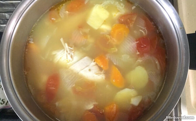 Simple Home-cooked Recipe: ABC Soup