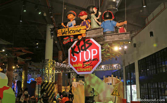 KidSTOP Science Indoor Playground in Singapore