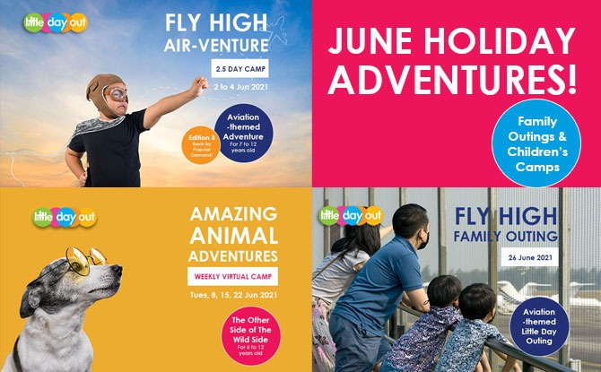 Join in Little Day Out's June 2021 Holiday Outings and Camps Bonanza!