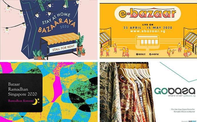 List of Online Hari Raya Bazaars 2020