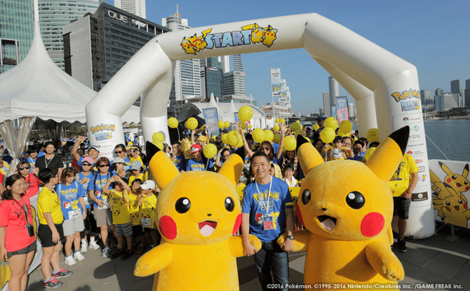 Pokemon Run Carnival 2018
