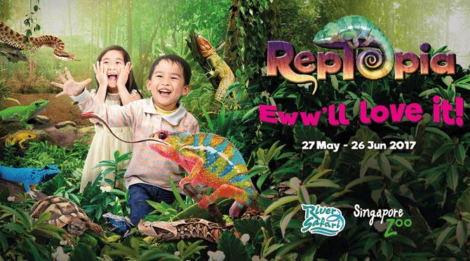 RepTopia & Zoolympix 2017 at Singapore Zoo