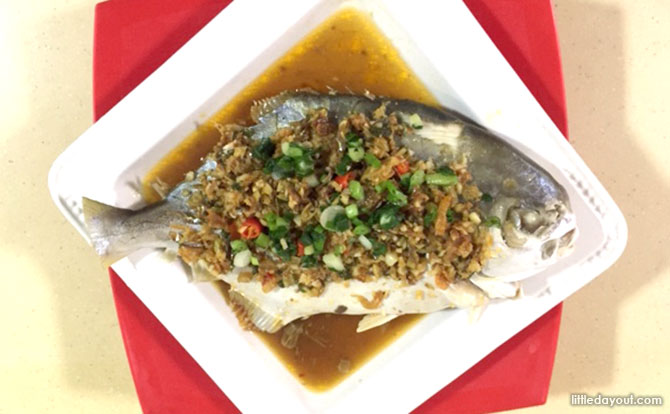 Steamed Fish with XO Sauce Recipe