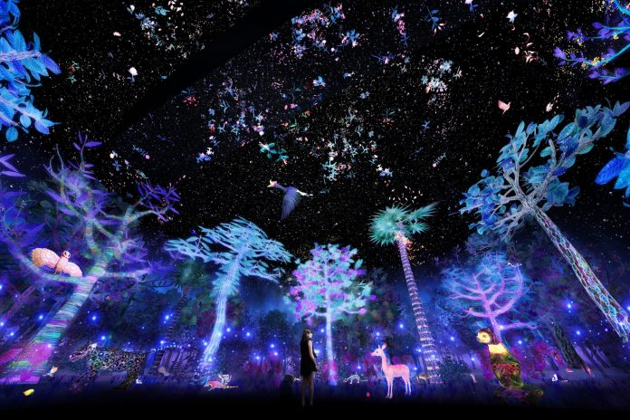 00-Story-of-the-Forest-at-National-Museum-of-Singapore-Artist-impression-by-teamLab-1