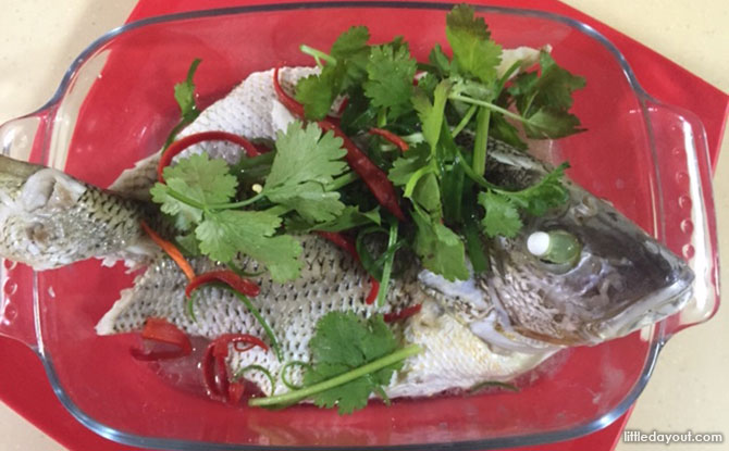 Home-cooked Recipe: Steamed Fish with Sweet and Sour Sauce