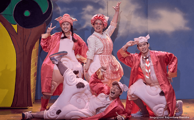 Review of SRT's Three Little Pigs