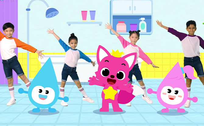 Water Wally And Sally Team Up With Pinkfong In New Music Video