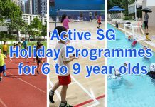 We Tried Three: Budget-Friendly ActiveSG Holiday Programmes For 6 to 9s - Badminton, Flippa Ball & Athletics