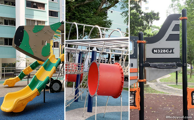 Plane Playgrounds in Singapore: Flying West