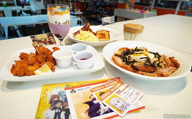 Isekai Quartet 2 X ANIPLUS Cafe: Venture Into A New World