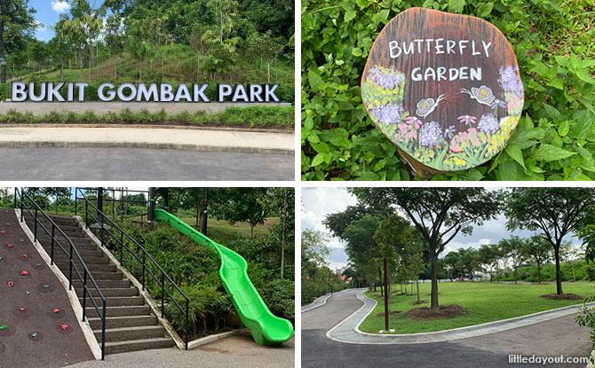 Bukit Gombak Park: Hillside Greenery With Butterfly Garden, Dog Run & Playground