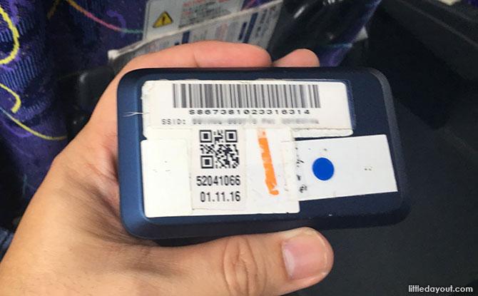 Changi Pocket Wifi Router