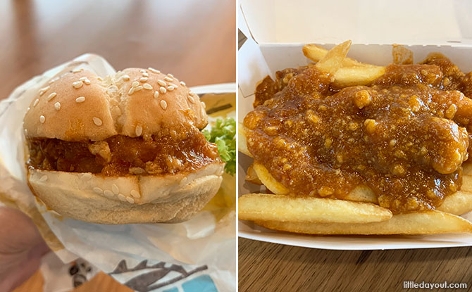 Taste Test: Burger King Chilli Crab Burger & Fries