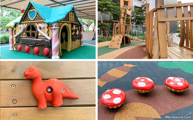 Clementi Crest Playgrounds: Adventure Treehouse & Play For Different Ages