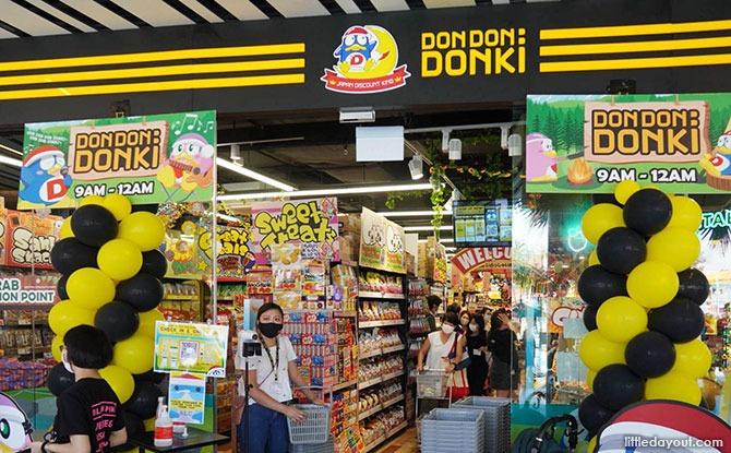 Don Don Donki At Downtown East: Shop Japanese At Pasir Ris