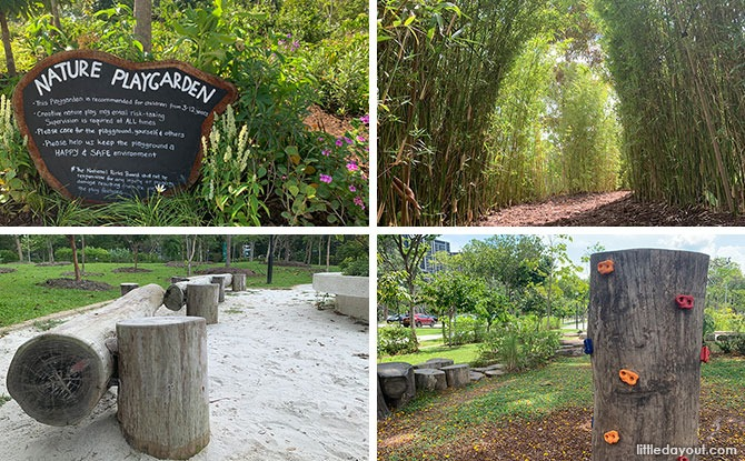East Coast Park Nature Playgardens: Bamboo Trail, Teepees & More