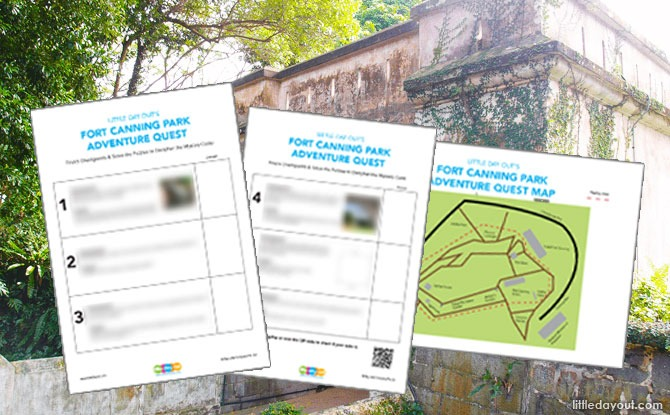 Fort Canning Park Adventure Quest: Discover The Secrets Of The Forbidden Hill