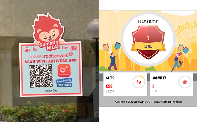 GameOn Nila!: Clock In Your Steps While Rediscovering Singapore
