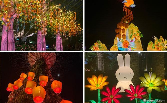 Gardens By The Bay Mid-Autumn Festival 2021: Sky Lanterns & Bunnies Light Up The Night