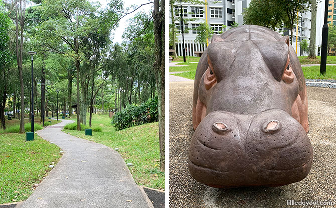 Greenwood Sanctuary @ Admiralty: Hippos In The Park