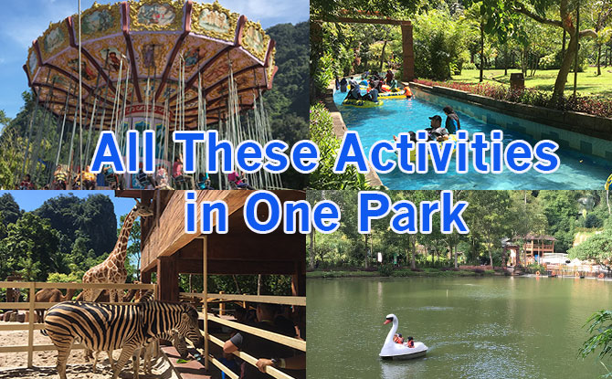 Lost World of Tambun In Ipoh, Malaysia: Water Park, Amusement Rides, Animals & Boating - All In One Theme Park!