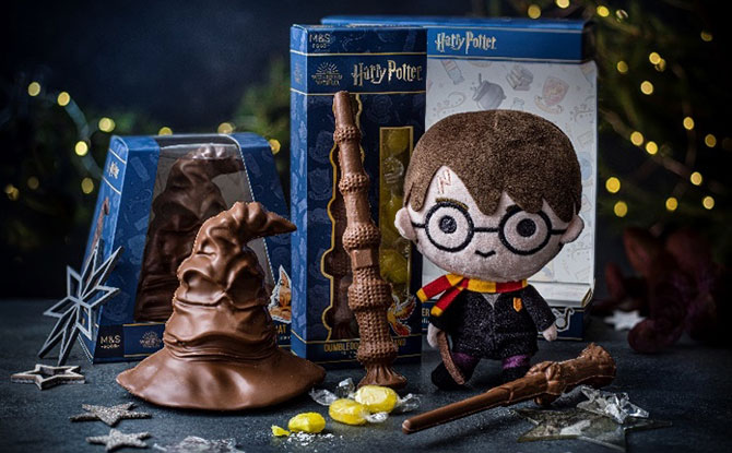 Marks & Spencer Is Bringing Magic To The Holidays With Harry Potter Food, Clothing & Home Collections