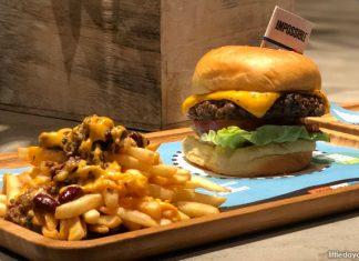 Omakase Impossible Burger: Taste Test