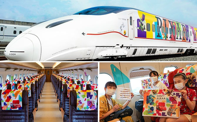 Pixar Train With Toy Story And Other Characters Gets Running In Japan