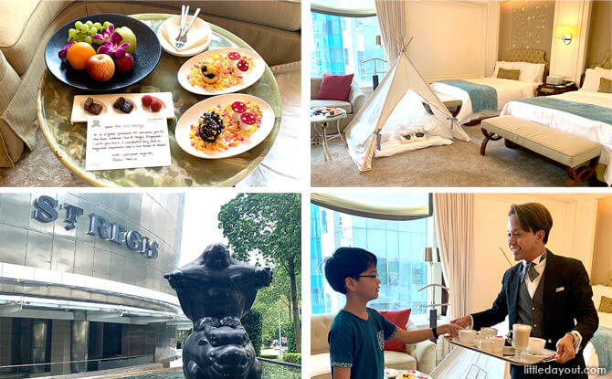 The St. Regis Singapore Staycation: A Lavish and Exquisite Family Experience