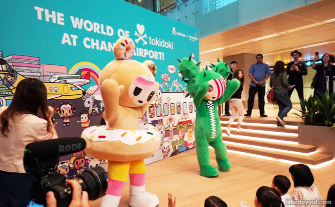 tokidoki Meet-and-Greets at Changi Airport