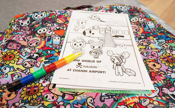 Changi Airport tokidoki Activity Packs