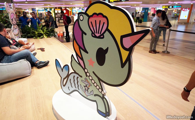 The World of tokidoki at Changi Airport