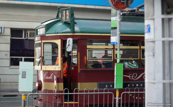 Melbourne's trams.