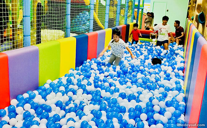 Ball pond at Tayo Station Downtown East