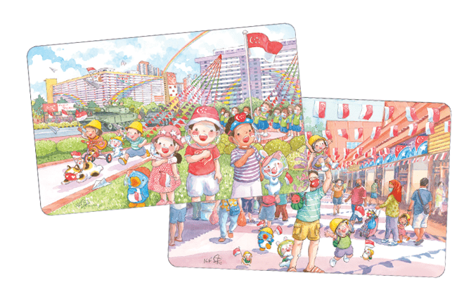EZ-Link Is Launching Limited Edition Cards With Designs By Ah Guo On 30 July 2021