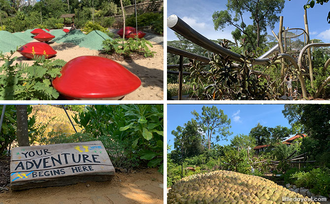 COMO Adventure Playgrove: Nature Playgarden at Singapore Botanic Gardens