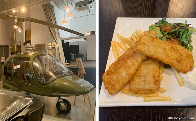 Hanger66 Café: Aviation-Themed Dining Spot At Seletar Aerospace Park