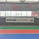 100Plus Promenade: Sheltered Running Track At National Stadium, Singapore Sports Hub
