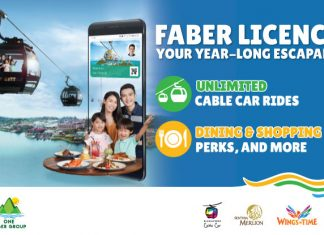 Faber Licence: Get Unlimited Cable Car Rides, Discounts On Dining, Attractions And Hotels With The Faber Licence – With 30% Off Membership Fees In March 2019